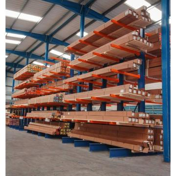 Large Load Capacity Selective Indoor Industrial Adjustable Single/Double Side Pipe Cantilever Rack